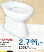 WC školjka ''Fayans''