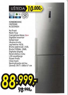 Kombinovani frižider RL56GHGIH