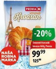 Smrznuti kroasan francuski