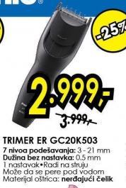 Trimer Er Gc20k503