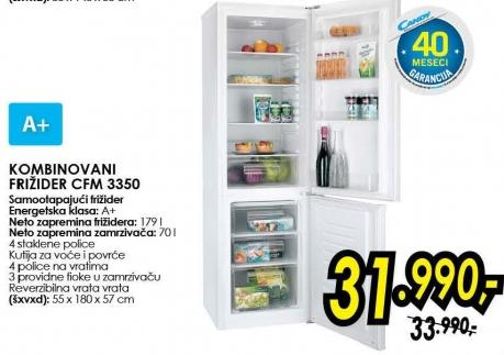 Kombinovani frižider Cfm 3350