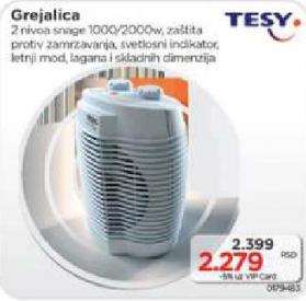 Grejalica, TESY