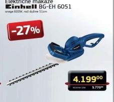 Električne Makaze Za Žbunje Bg-Eh 6051