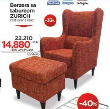 Fotelja ZURICH