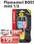 Flomasteri Boss mini 1/3
