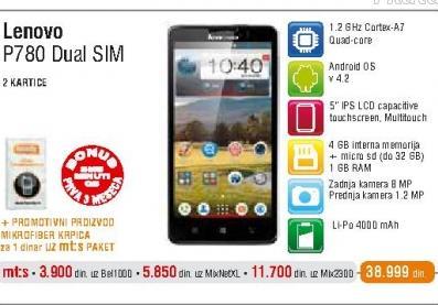 Mobilni telefon P780