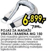 Pojas za masažu vrata i ramena Mg 150