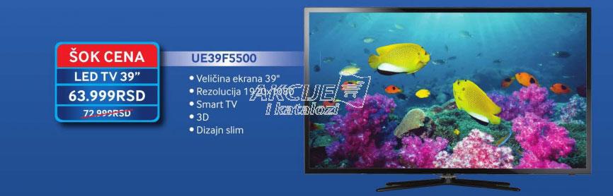 LED Televizor UE-39F5500
