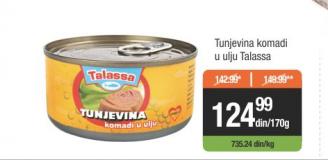 Tunjevina u ulju - Talassa