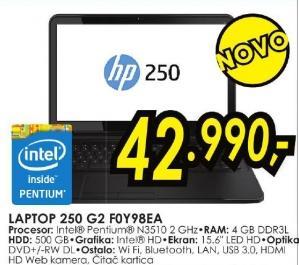 Laptop 250 G2 F0y98ea