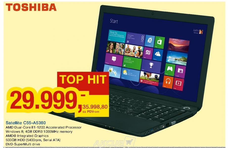 Laptop Satellite C55-A5380