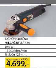 Ugaona Ručna Brusilica VLP440