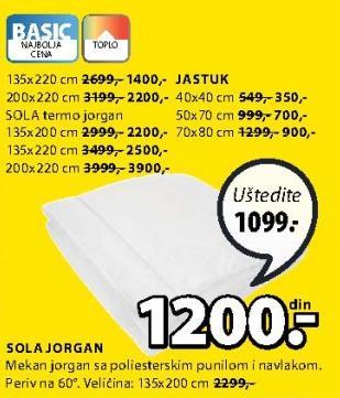 Jastuk Sola 40x40cm