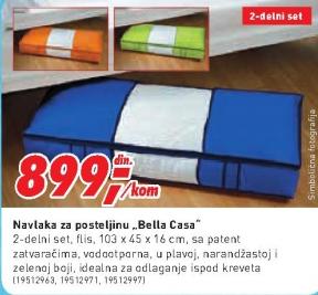 Navlaka za posteljinu ''Bella Casa''
