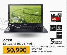 Laptop Aspire E1-522-65208G1TMnkk - NOT05673