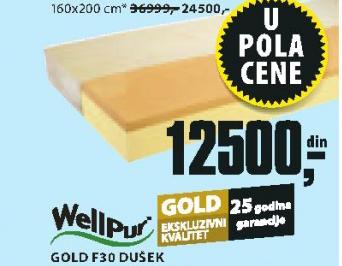 Dušek Gold F30, 140x200cm