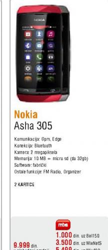 Mobilni telefon Asha 305