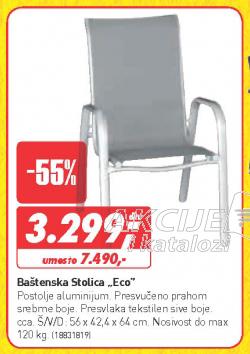 Baštenska stolica Eco
