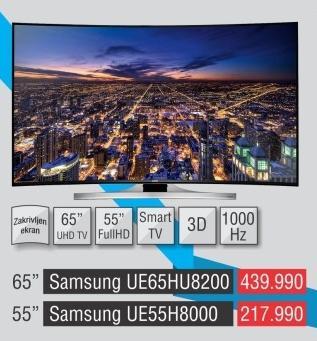 """Televizor LED 55"""" 3D Ue55h8000"""