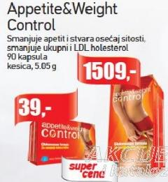 Appetite Weight Control