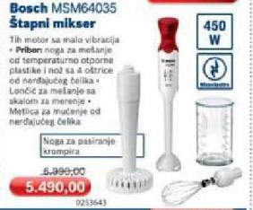 Štapni Mikser Msm 64035
