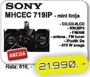 Mini linija Mhcec719ip