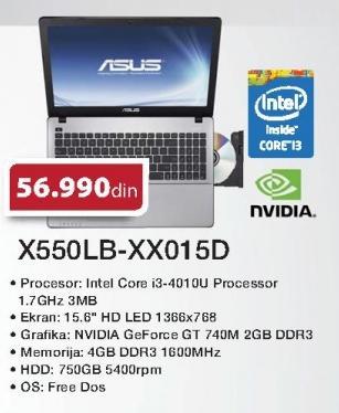 Laptop X550lb-Xx015d