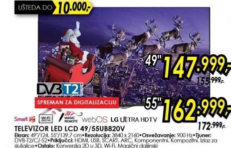 """Televizor LED 55"""" 55ub820v"""