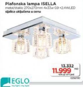 Plafonska lampa Isella