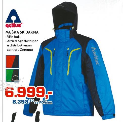 Muška ski jakna