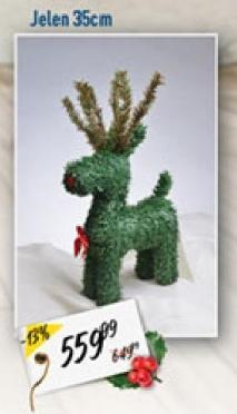 Novogodišnji ukras jelen