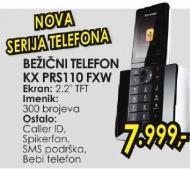 Bežični telefon Kx Prs110fxw