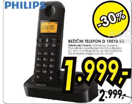 bežični telefon D 1501B/53