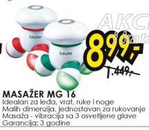 Masažer Mg 16