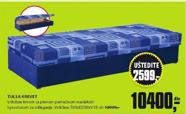 Krevet TULSA