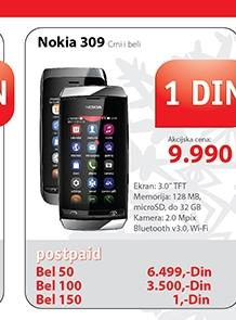 Mobilni telefon Nokia 309 Asha