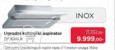 Aspirator DF6315W