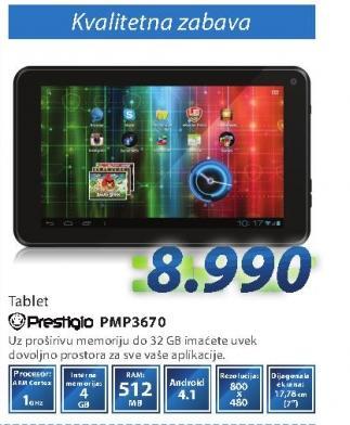 Tablet Pmp3670