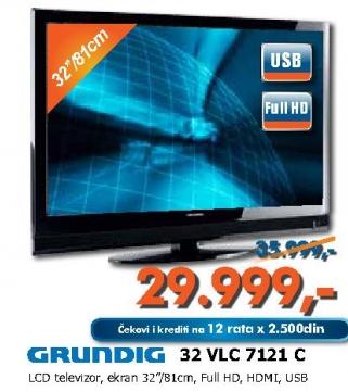 LCD televizor 32 VLC 7121 C