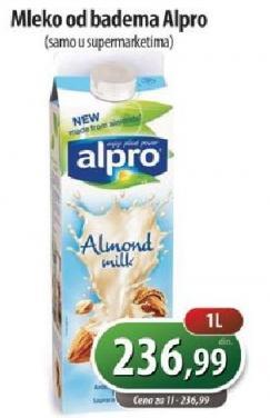 Sojino mleko badem