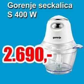 Seckalica S 400W