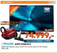 Smart LED TV 42PFL3208/H12