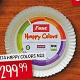 Fest tepsija Happy Colors N28