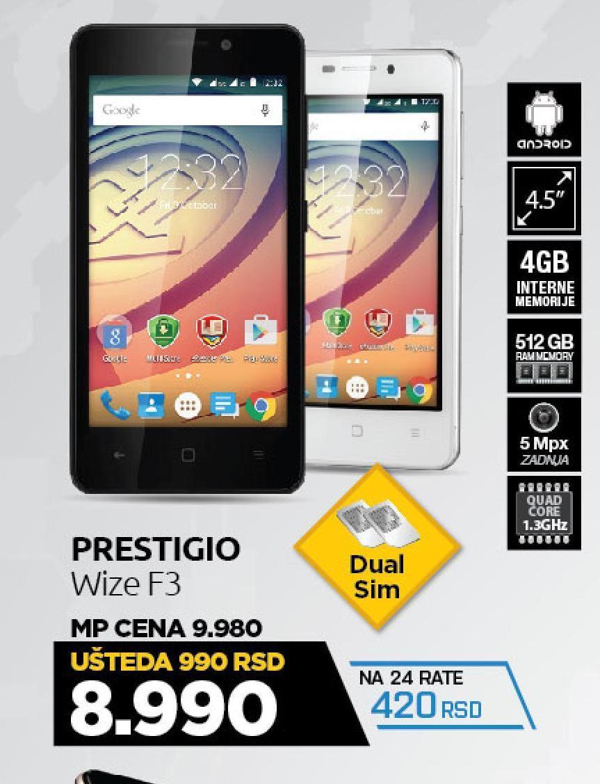 Mobilni telefon Wize F3