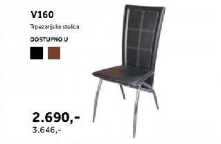 Trpezarijska stolica V160