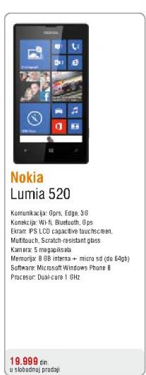 Telefon mobilni Lumia 520