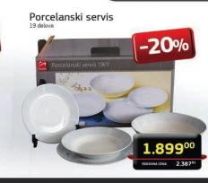 Porcelanski servis 19/1