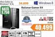 Desktop računar GAMER X4+Poklon vaučer za 3 meseca f-Secure Internet security