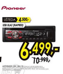 Auto radio DEH-1400UB