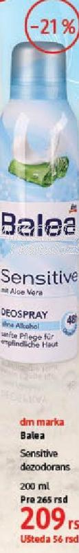 Dezodorans Sensitive